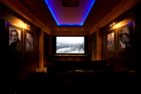 Revelstoke Chalet Movie Room
